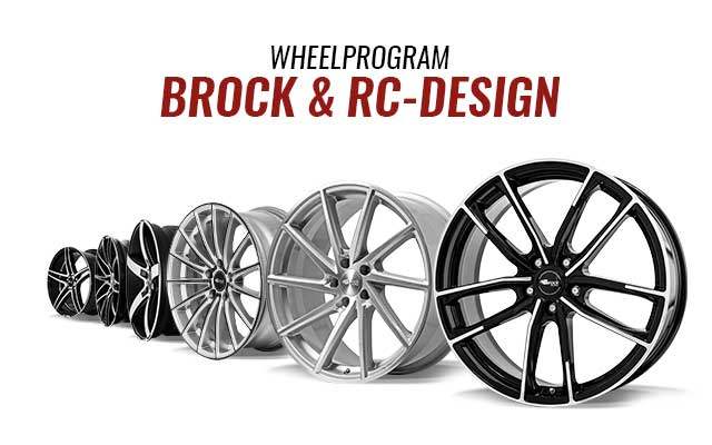 Brock und RC-Design Wheelprogramm