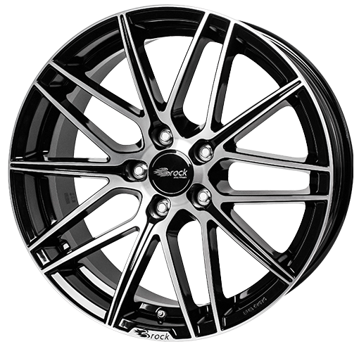 Brock B34 Sgvp Brock Alloy Wheels