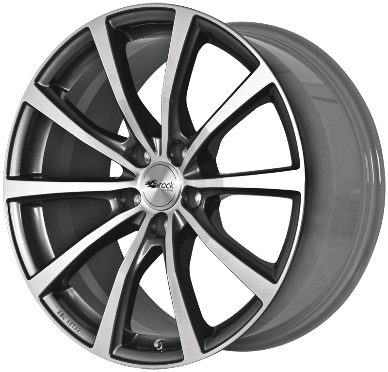 Brock B32 Hgvp Brock Alloy Wheels