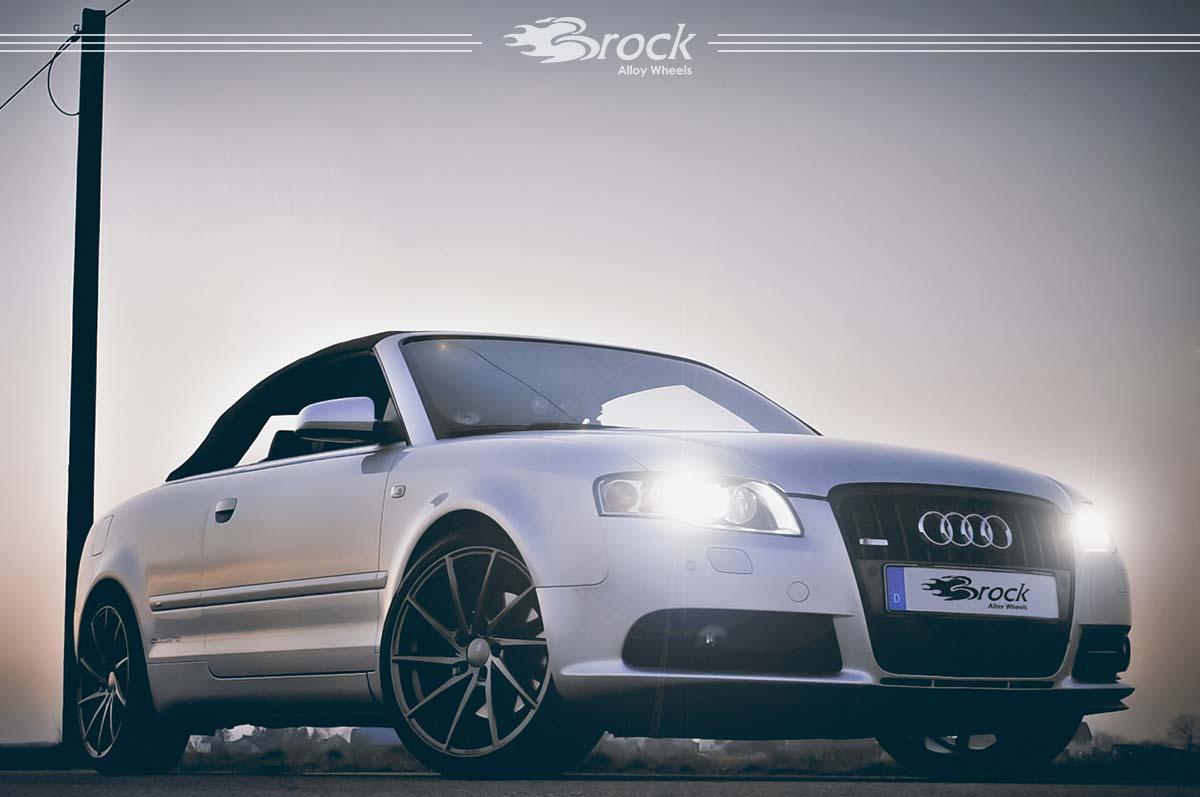 Audi A4 Quattro Cabriolet Brock B37 DS