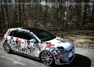 VW Golf VII Adidas Edition Brock B37 KSVP