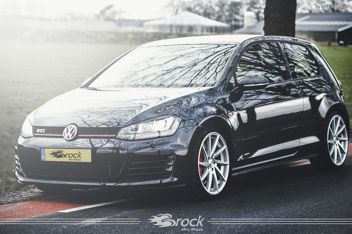 vw golf vii gti brock b37 ksvp brock alloy wheels. Black Bedroom Furniture Sets. Home Design Ideas
