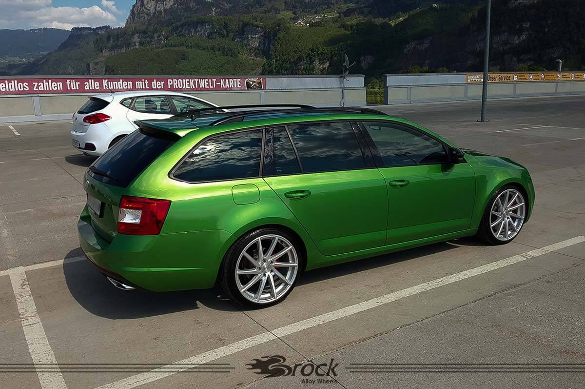 skoda octavia rs kombi brock b37 ksvp brock alloy wheels. Black Bedroom Furniture Sets. Home Design Ideas
