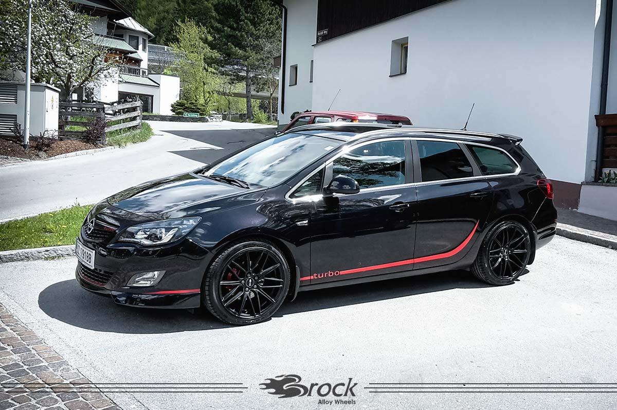 Opel Astra J Sportstourer B34 Skm 859 Brock Alloy Wheels