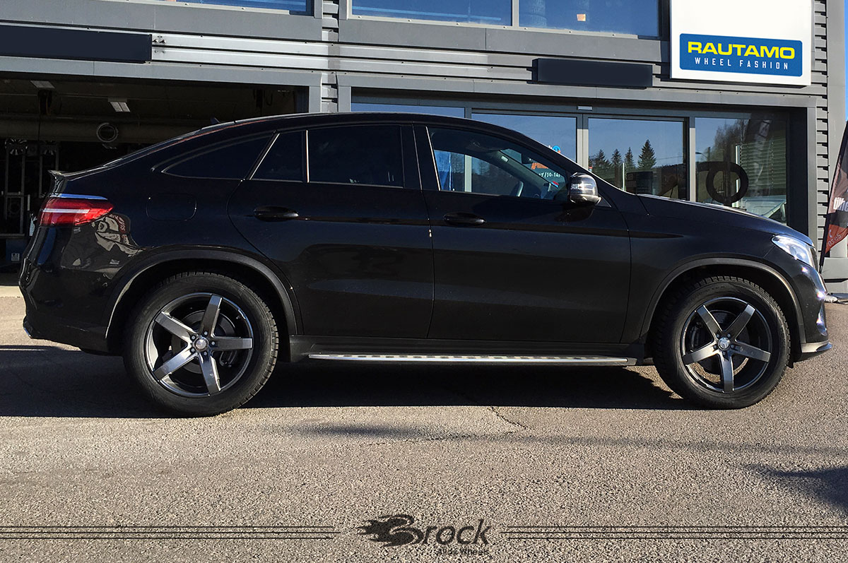 Mercedes Benz GLE Brock B35 9x20 5x112 TM