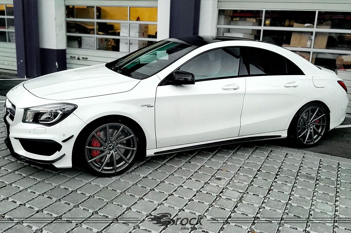 mercedes benz cla felge brock b37 ds brock alloy wheels. Black Bedroom Furniture Sets. Home Design Ideas