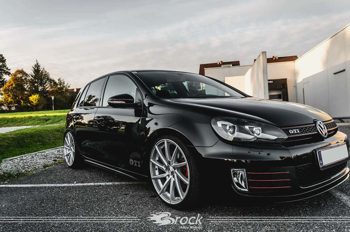 vw golf vi gti felge brock b37 ksvp brock alloy wheels. Black Bedroom Furniture Sets. Home Design Ideas