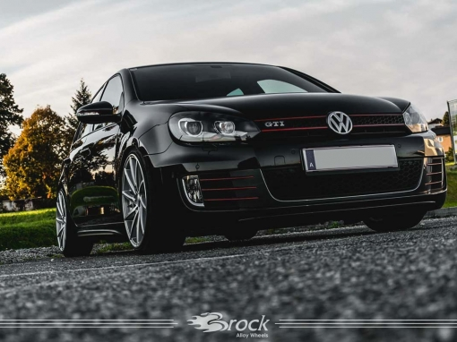 VW Golf VI GTI Felge Brock B37 KSVP 8.5×19