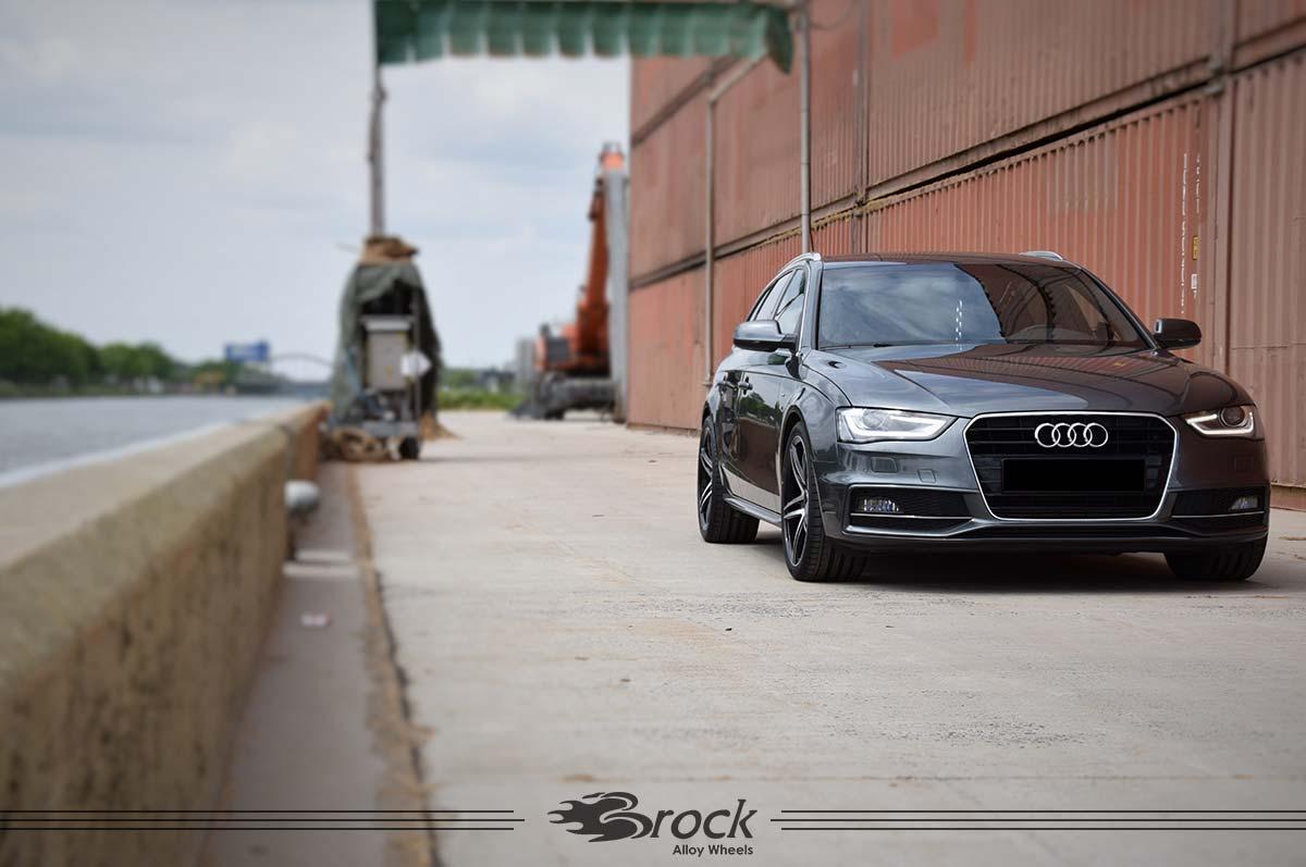 Audi A4 S-Line Brock B33 SGVP