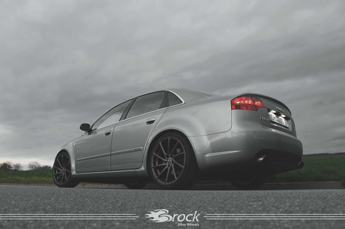 Audi RS4 Felge Brock B37 DS 8.5x19