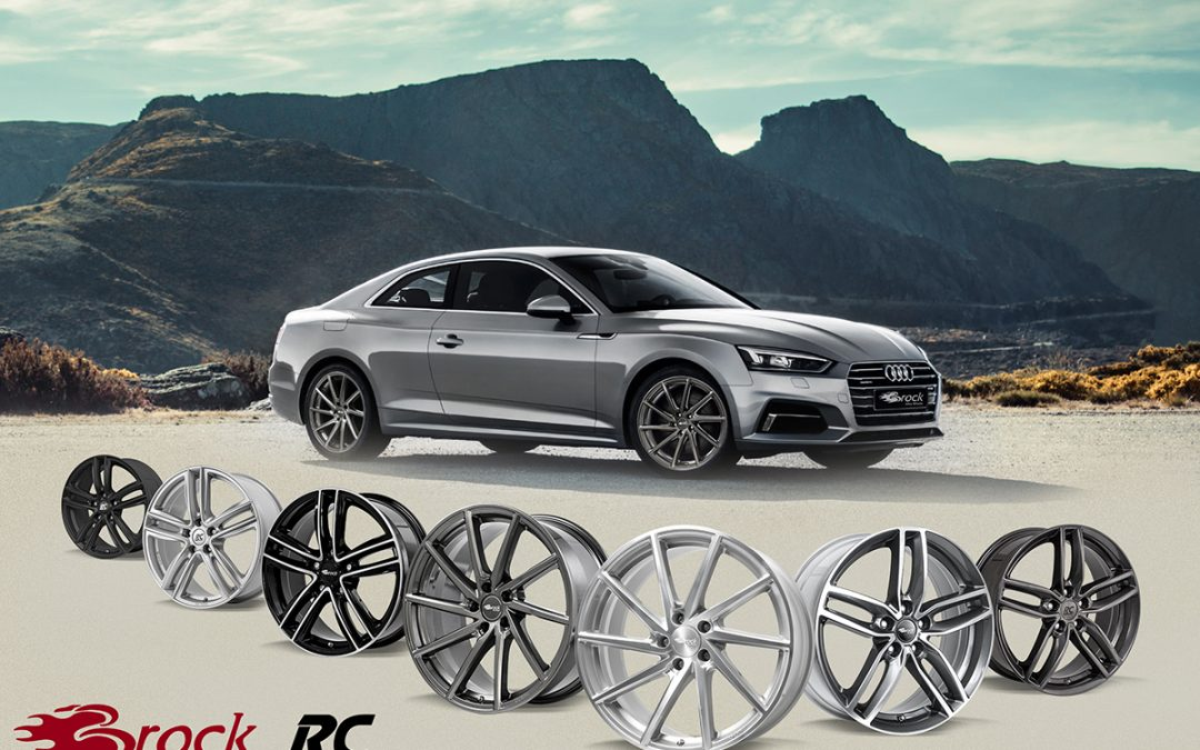 Brock Alloy Wheels mit vielen Alternativen für Audi A5 – Reihe