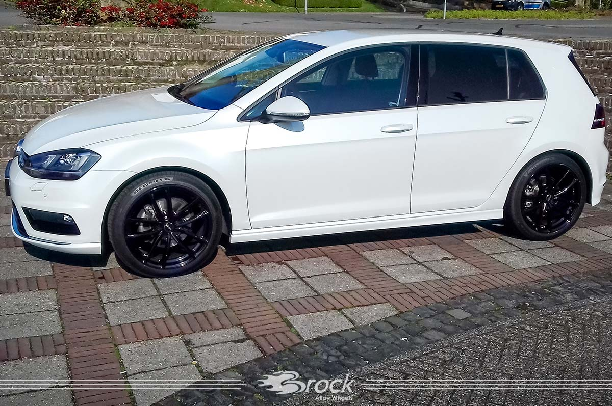 vw golf vii r line brock b38 sg brock alloy wheels. Black Bedroom Furniture Sets. Home Design Ideas