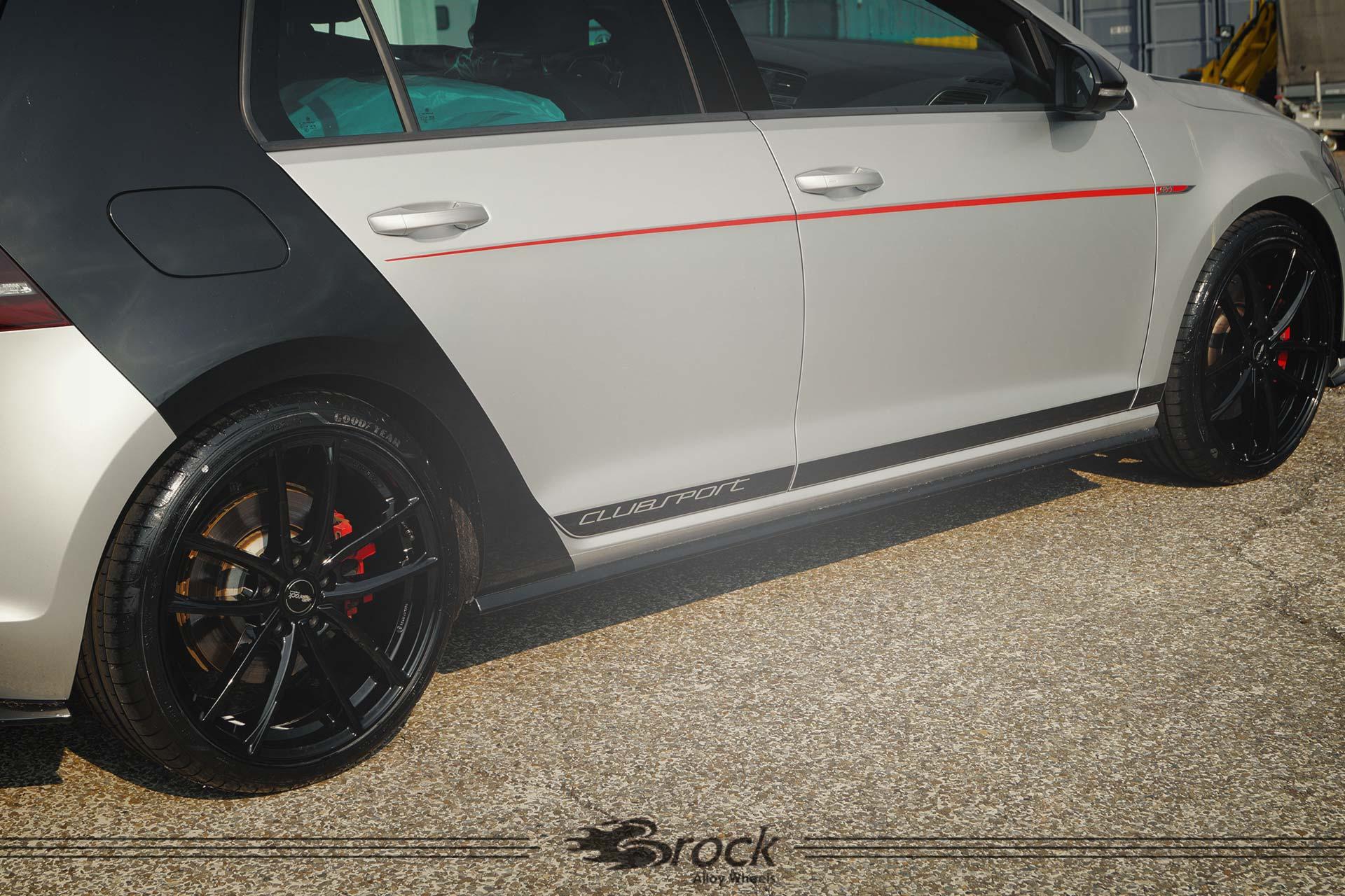 VW Golf VII GTi Clubsport Brock B38 SG