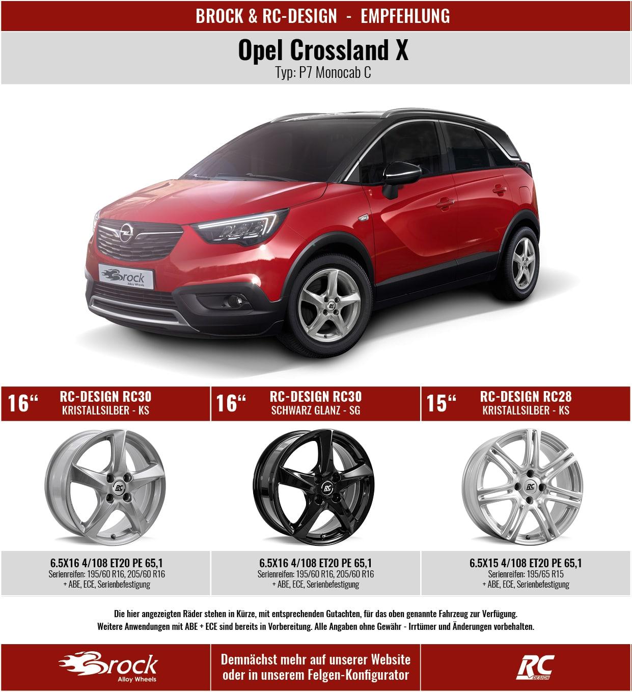 Empfehlung Opel Crossland X
