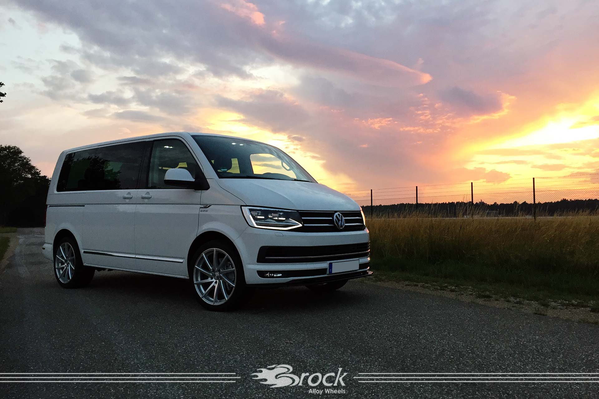 Vw T6 Brock B37 Ksvp Brock Alloy Wheels