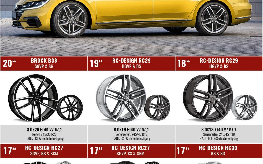 Brock & RC-Design Felgen für neuen VW Arteon