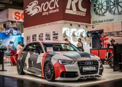 Audi A3 mit Brock B39 HGM Felgen 19 Zoll