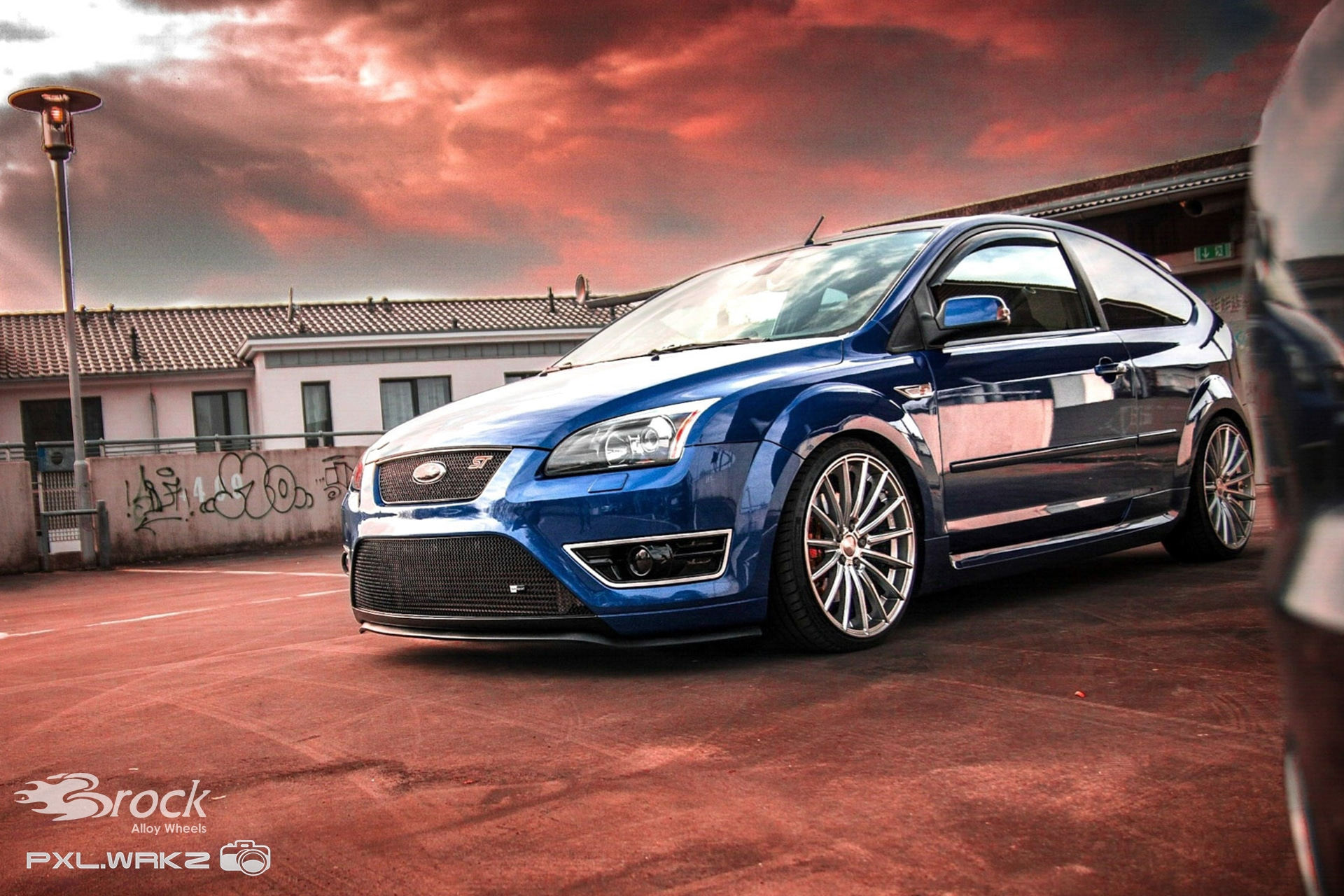 Ford Focus ST Brock B36 HS Felge