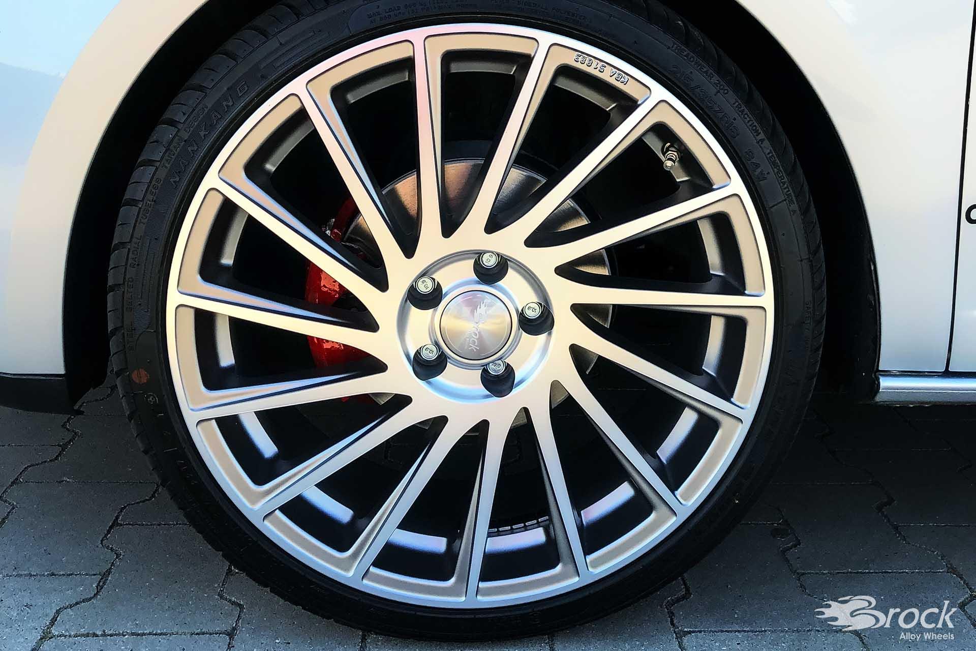 Seat Ibiza 6J SC Brock B39 Alufelgen